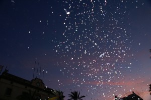 Confetti al cel, by Núria i JC on Flickr, licensed under Creative Commons