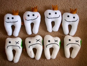 New! Tooth holder Plush, by Mandy Jouan on Flickr, licensed under Creative Commons