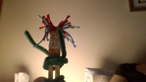 Worry doll, by S.