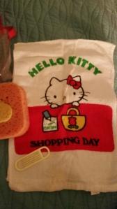 Hello Kitty say, Clean fingernails mandatory.