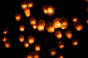 Pingxi Sky Lantern Festival 2014 in Taiwan, by Jirka Matousek on Flickr, licensed under Creative Commons