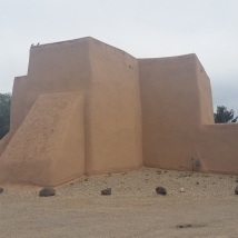 An O'Keeffe come to life (Taos)