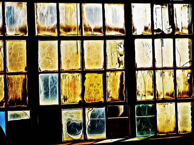 Time, light, and window were one, by Henk Sijgers on Flickr, licensed under Creative Commons